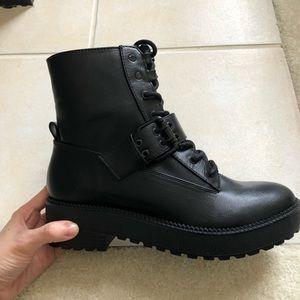 Bershka Shoes | Bershka Combat Boots